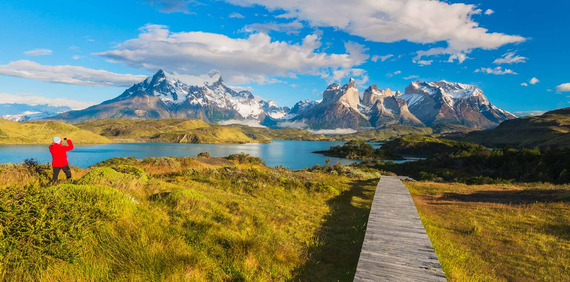 South America Chile Blue Lake Beautiful View Scenic Hike - luxury vacation destinations