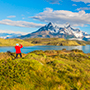 South America Chile Overlook Lake Beautiful Viewpoint Accomplished - luxury vacation destinations