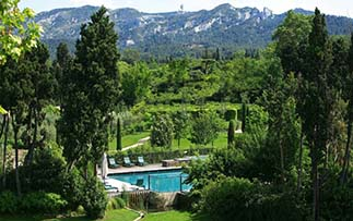 Europe France Saint-Remy-de-Provence Hotel de l'Image gardens and outdoor pool - luxury vacation destinations
