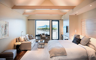 US Pacific Northwest Puget Sound Orcas Island Outlook Inn relaxing modern accommodations  - luxury vacation destinations