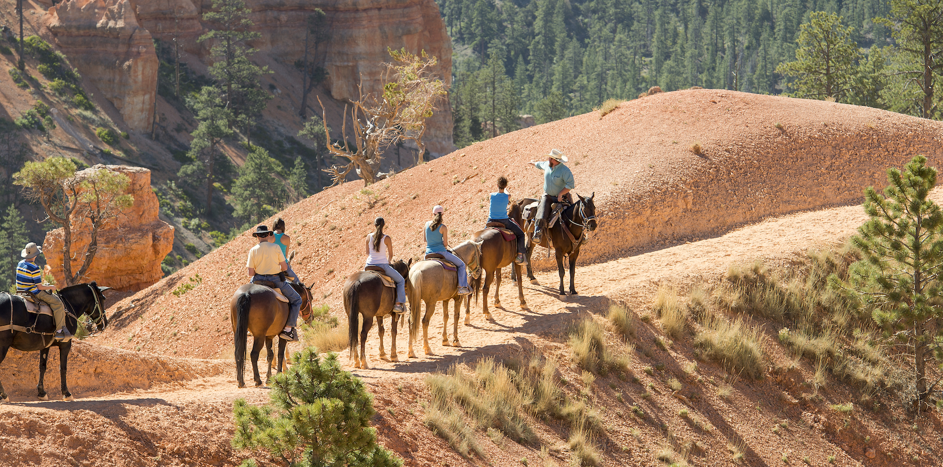 Bryce Canyon Muel Tour Family Teenage Kids