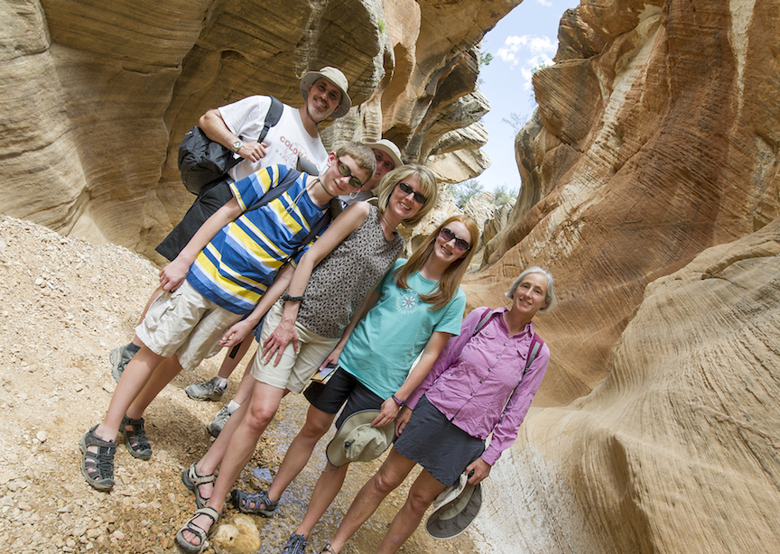 Bryce Canyon family